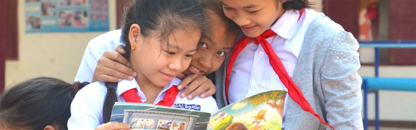 Bildung beginnt mit einem Buch